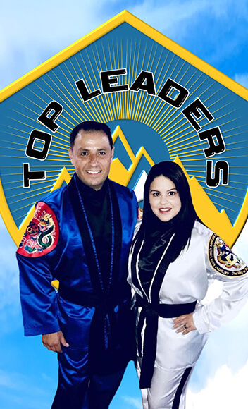 Master Eduardo Gonzalez and Master Carolina Gonzalez Top Leaders Martial Arts
